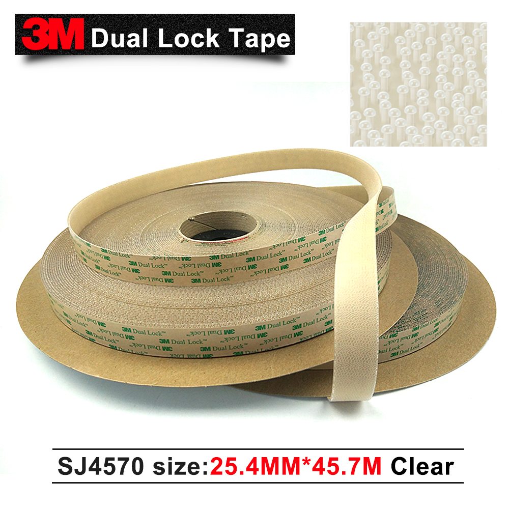 3M adhesive transparent tape SJ4570 low profile acrylic adhesive cheap price indoor outdoor clear fastener dual lock wholesale стоимость
