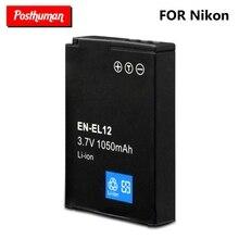 цена на New Original EN-EL12 Camera Battery S610 S610c S710 S620 S630 S8000 3.7v 1050mah Digital Rechargeable Li-ion For Nikon Coolpix