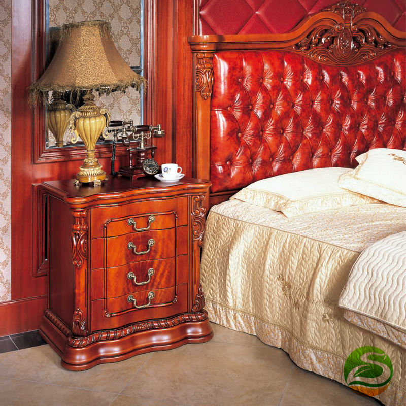 Bedside cabinet Solid wood cabinets Classical bedside cabinet willow wood bamboo rattan straw bedside cabinet lockers storage cabinets debris cabinet