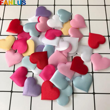 200pcs/lot 20mm Pink Heart Petals Decorations Anniversaire Garcon Love Konfetti Wedding Party Confeti Table Decoration Bed Decor