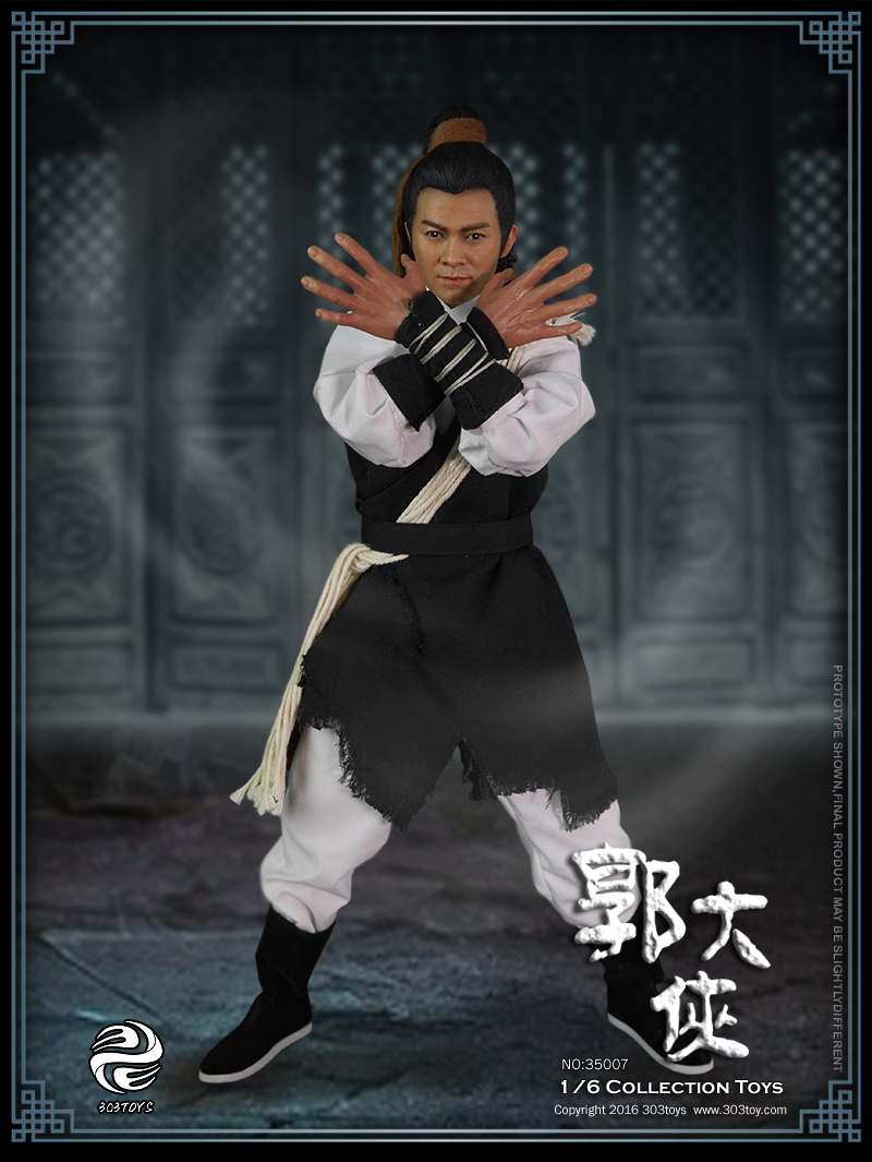 1/6 scale Chinese Martial arts figure doll Eagle Shooting Heroes Guo Jing 12 Action figure doll Collectible model plastic toys