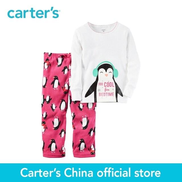 Картера 2 шт. детские дети дети 2-х Частей Хлопок и Флис PJs 357G275, продавец картера Китай официальный магазин