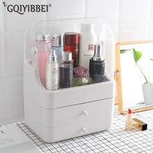 Fashion Multifunctional Portable Makeup Holder Storage Box Drawer Brush Jewelry Case Organizer For Cosmetics