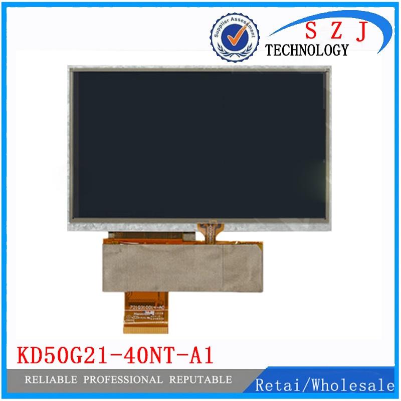 New 5'' inch for Navi N50 HD GPS HD Car Navigators 40 pin LCD display with touchscreen KD50G21-40NT-A1 HSD050IDW1-A20-A navigators planet earth