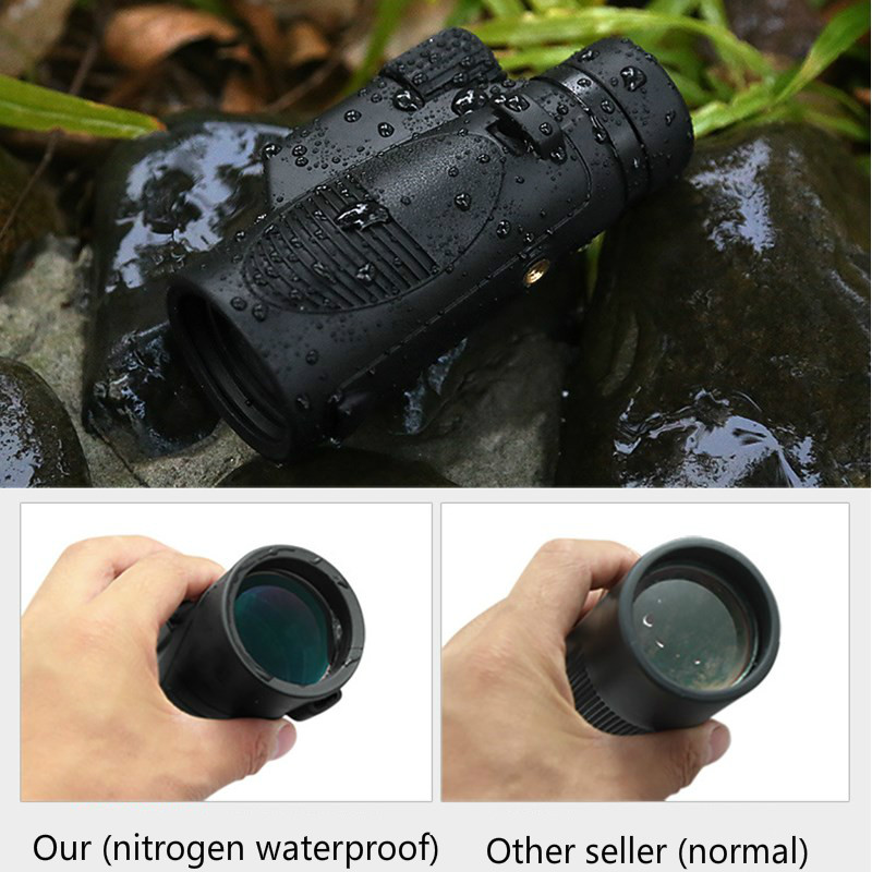 8x42 / 10x42 Monocular Telescope BAK4 Prism Nitrogen Waterproof Monoculars FMC Multi-coated for Hunting Camping Hiking Travel 2017 new arrival all optical hd waterproof fmc film monocular telescope 10x42 binoculars for outdoor travel hunting page 4