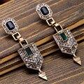 Vintage Elegant Luxury Beautiful Earrings Fashion Geometric Earrings For Women Charm Jewelry