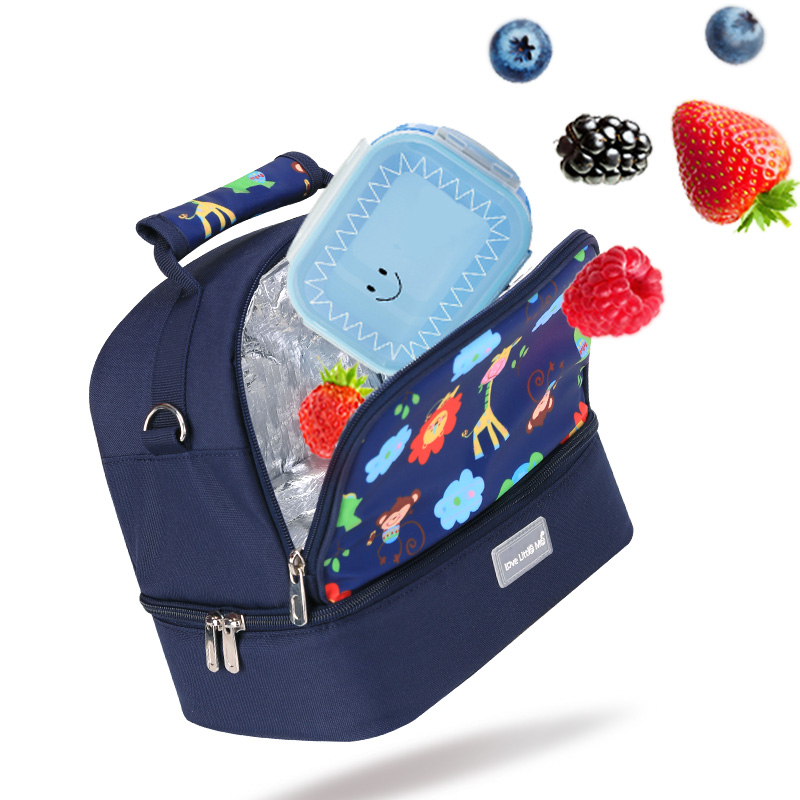 LLM Insulation Bag baby milk bottle insulation bags for food Lunch Handbag Food Picnic Cooler Bag Insulated Storage Container