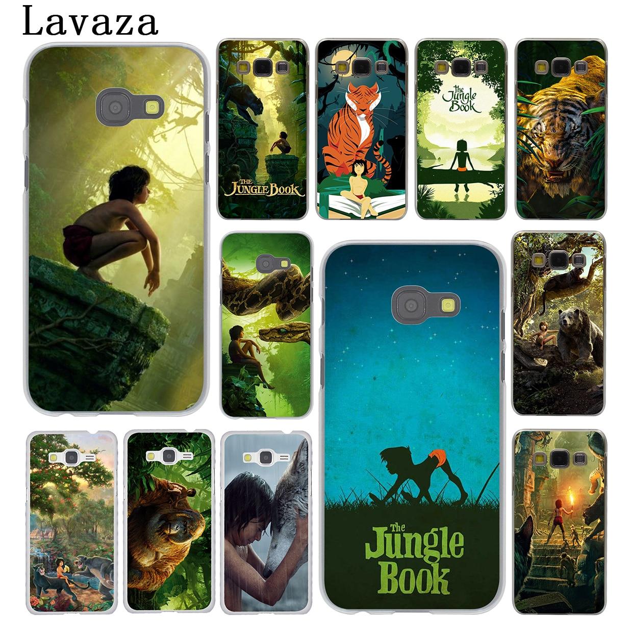 Lavaza The Jungle Book Hard Case for Samsung Galaxy A8 A7 A3 A5 2015 2016 2017 2018 Grand Prime Note 8 5 4 3 2 Cover