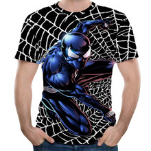 2018 New Arrive American Comic Badass Deadpool T Shirt Men Women Cartoon Characters 3D t-shirt Funny Casual t-shirts top(China)