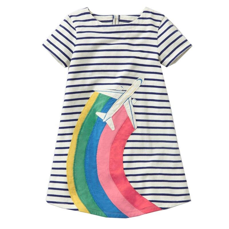 Vestidos Baby Girls Dress Unicorn Summer Beach Flmingo Dress Princess Costume Kids Party Dresses for Girls Children Clothing
