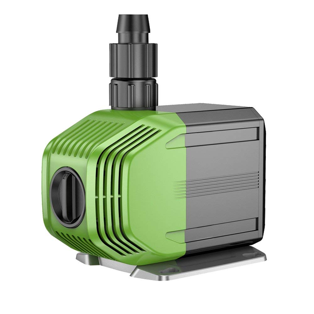 AC110V 40W,14.7ft Lift,1188GPH Submersible Pump,Quiet Water Pump with 2 Nozzles
