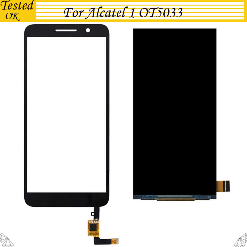 5 zoll Für Alcatel 1 5033 5033D 5033X 5033Y 5033A 5033J LCD Display Touchscreen Digitizer Sensor Glas Ersatz