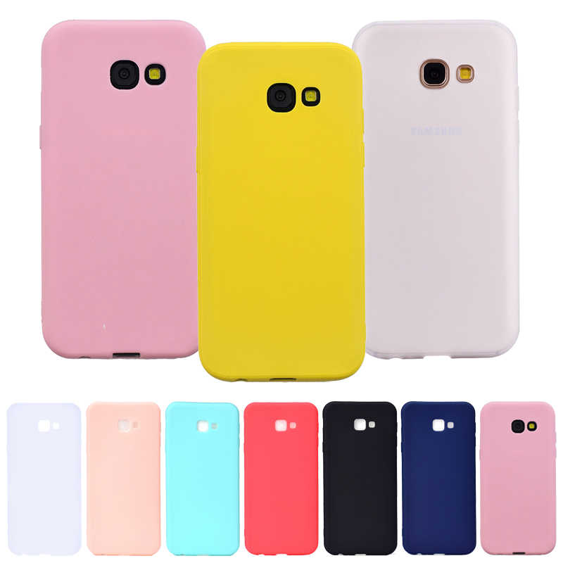 Candy Color Silicon Case on for Samsung Galaxy J4 Plus 2018 Couqe J4 J6 2018 J4Plus J6Plus Fundas Cute Soft TPU Phone Back Cover