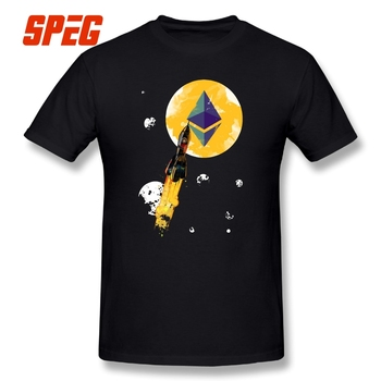 T-Shirt Up To The Moon Ethereum