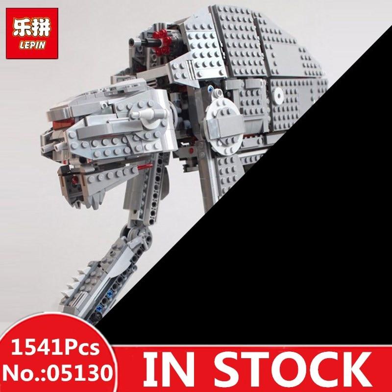 IN STOCK H&HXY 05130 1541Pcs Star Series The First order heavy assault walker wars Set lepin Building Blocks Bricks Funny Toys цена