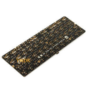 Image 4 - YMDK 40% YMD40 DIY Kit AMJ40 PCB CNC Case Plate For 40% Mini Cute Mechanical Keyboard Free shipping