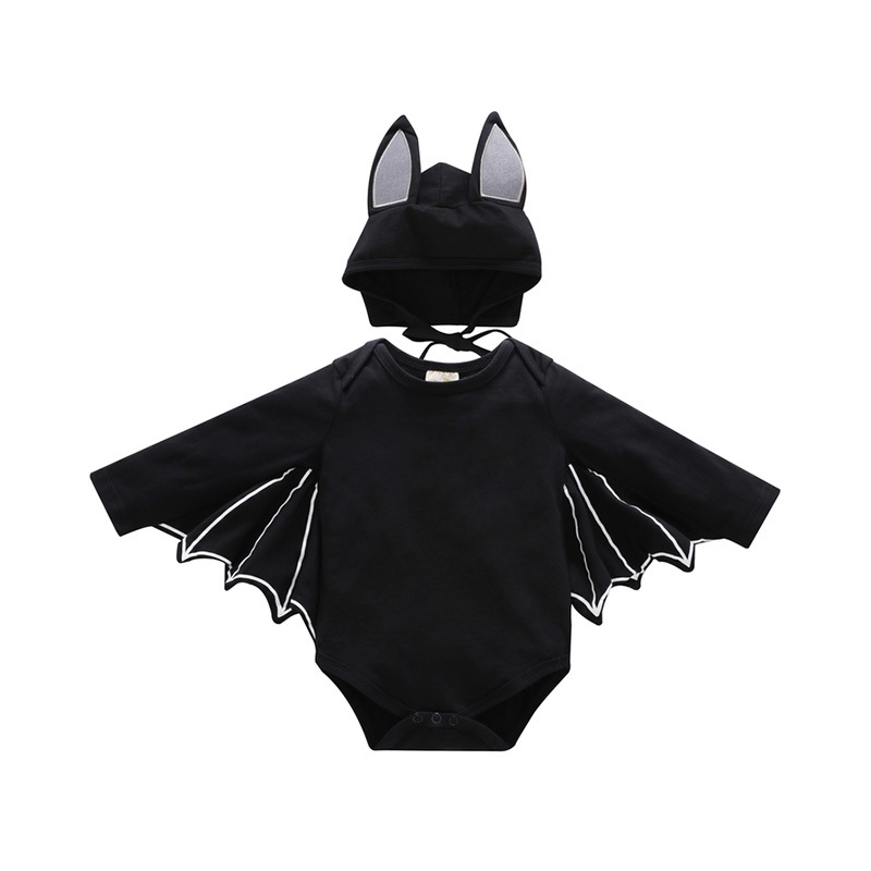 Toddler Halloween Costumes Batman Newborn Baby   Romper   Long Sleeve Baby Boys Jumpsuit Onepiece Cosplay Clothes Infant Clothing