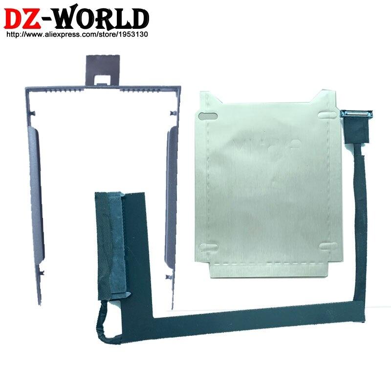 New SATA SSD HDD slot3 Cable Bracket for Lenovo ThinkPad P52 hard drive Wire Line 01YU230 01YU229 DC02C00CR10 DC02C00CR00
