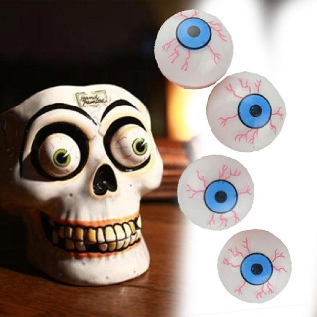 halloween party decoration halloween pop funny eye toys dropping eyeball horror terror scary party joke toy