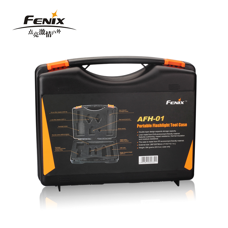 все цены на FENIX AFH-01 NEW Portable flashlight tool case suitable for TK32 TK16 TK22 TK15C TK09 ALG-01 ARE-01\02\03 ARB-L2 ARE-X1