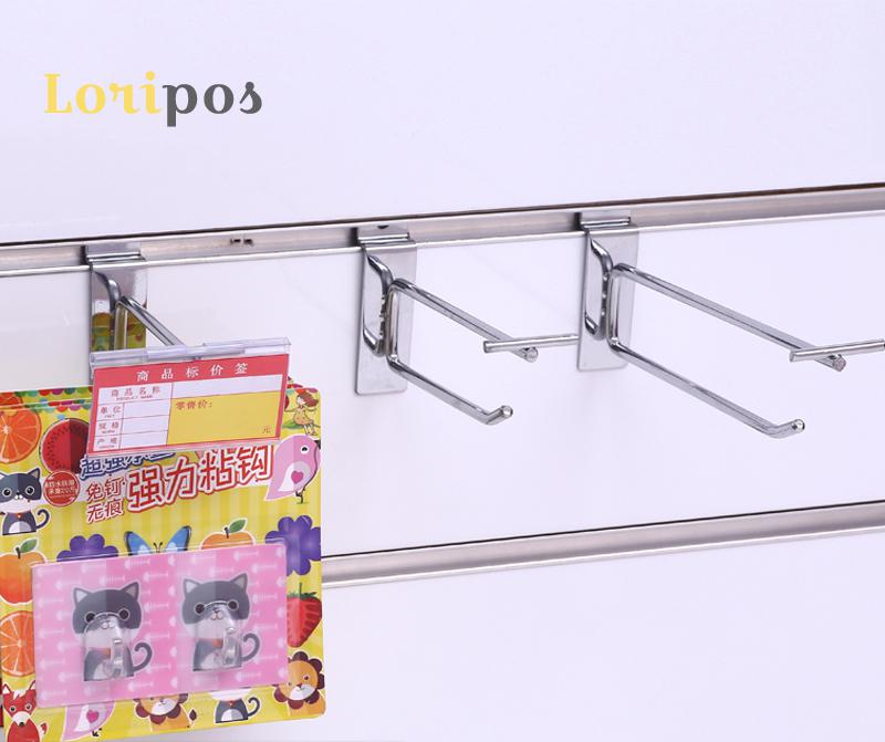 Shelf Hanging Organizers Slot Wall Shelf Mounting Shelf Mount Hanger Bracket Racking Storage Shelf Hanger Hardware Organizer Rod