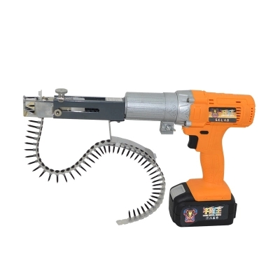Wireless Lithium Battery 12V-36V Woodworking Nail Chain Screw Drill Professional Automatic Screw Binding Tool