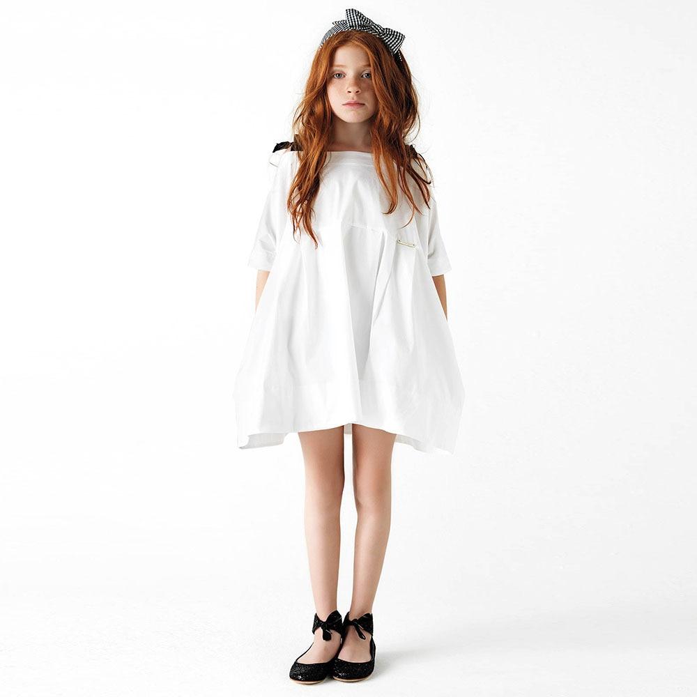 Barn Sommar Höst Casual Girl Prinsessan Enkelt Toppkvalitet - Barnkläder - Foto 2