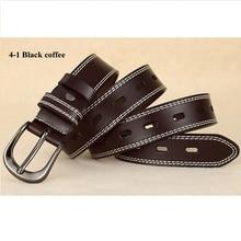 Genuine Split Leather Women's Belt
