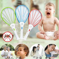 Rechargeable Electric Insect Pest Bug Fly Mosquito Zappers Swatter Tool
