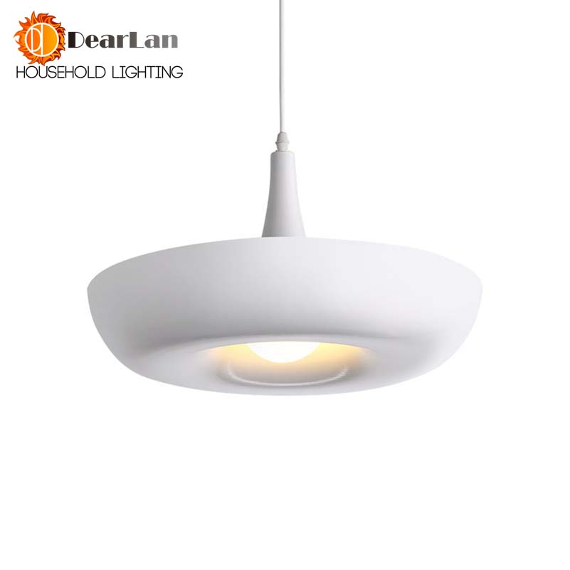 Fashion Personality Single-head Modern Pendant Light Aluminum Light Dining Room Lamp E27 Candle Light,White/Yellow Bedroom Lamps soft case back cover for xiaomi redmi 4 pro transparent