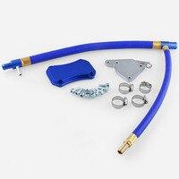 Hot Kit de Tubulação de Circulação De Gás De Escape para Chevrolet para GMC Duramax 11 6.6L 15 Aço Inoxidável Válvula EGR Excluir coller Kits|  -