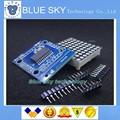5pack/lot MAX7219 dot matrix module microcontroller module DIY KIT