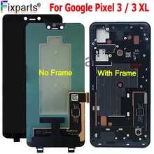 "6.3 ""per Google Pixel 3 Display LCD Touch Screen Digitizer Assembly Per Google Pixel 3 XL LCD Pixel2 Pixel3 XL LCD di Ricambio"