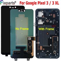 For 6.3 Google Pixel 3 LCD Display Touch Screen Digitizer Assembly For Google Pixel 3 XL LCD Pixel2 Pixel3 XL LCD Replacement