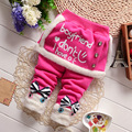 2016 Winter Baby Boy Pants Baby Clothing Girl Creepers Baby Pants Boys Clothes Infantis Thickening Sweat Pants for Girls Overall