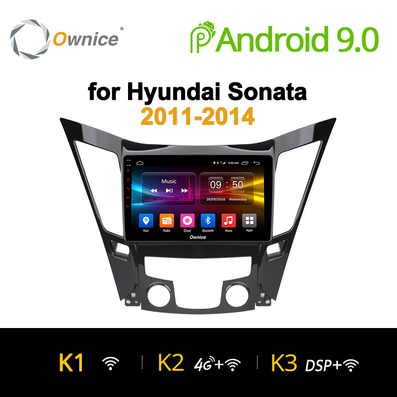Ownice K1 K2 K3 Octa Core 2G+32G Car DVD player radio headunit stereo for Hyundai Sonata 2011 - 2014 audio android 9.0 gps navi
