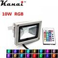 2pcs IP65 Waterproof FloodLights 10w RGB Led Flood light Outdoor Light Refletor Lamp 110V 220V Garden Lighting