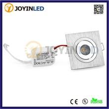 10 шт. мини квадратный потолочный светильник 3 Вт светодиодная лампочка прожекторов для дома и кухни