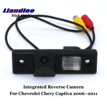 цена на Liandlee For Chevrolet Chevy Captiva 2006~2011 Car Rearview Reverse Camera Backup Parking Rear View Camera / Integrated SONY CCD