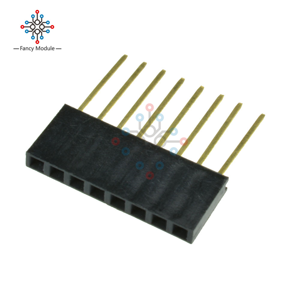 Messung Und Analyse Instrumente Instrument Teile & Zubehör 10 Stücke 8 Pin 2,54mm Stapelbar Lange Beine Femal Header Für Arduino Schild