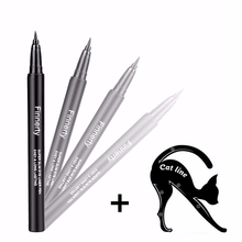 цены на NAQIER Makeup Eye Eyeliner quick DIY Long-lasting Eyeliner Stamp Waterproof Eyeliner Pencil Cosmetic Eye make up Tools
