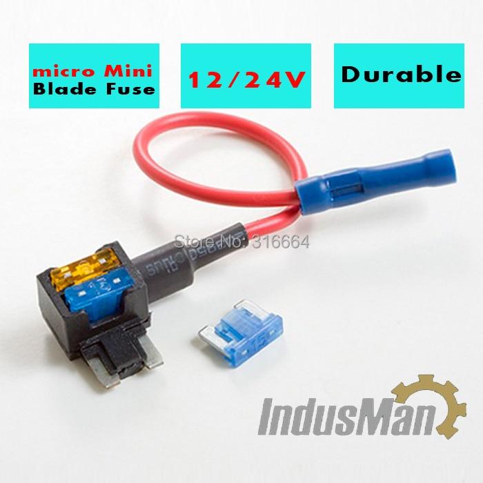 2 pcs micro Add A Circuit Fuse Tap Piggy Back Standard ...