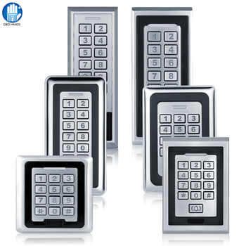 K81~K88 IP 65 Waterproof Metal Access Control System RFID 125KHz Card With 8000 Users Card For Door Lock Security Entry System - Category 🛒 Security & Protection