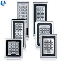 K81 K88 IP 65 Waterproof Metal Access Control System RFID 125KHz Card With 8000 Users Card