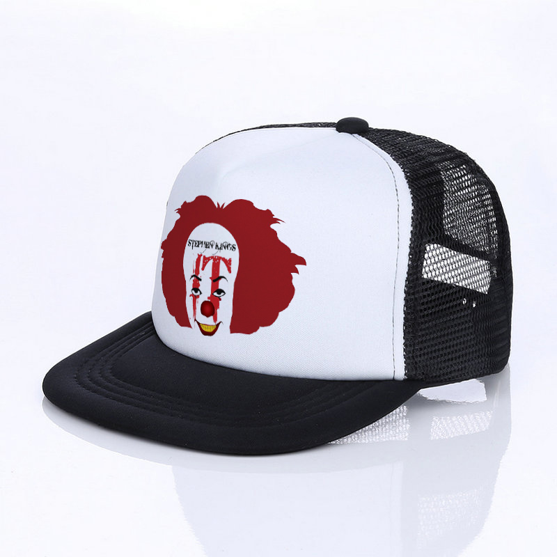 Funny Snapback Joker It-Baseball Trucker King American Hat Caps Movie Unisex YF028 Horror-Film