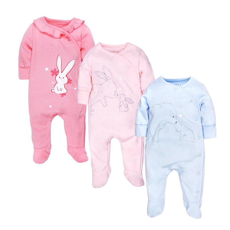 newborn baby rompers winter long sleeve 100 cotton pig Christmas clothes rompertjes unisex boy Girl clothing onesie one piece newborn baby rompers baby clothing 100% cotton infant jumpsuit ropa bebe long sleeve girl boys rompers costumes baby romper