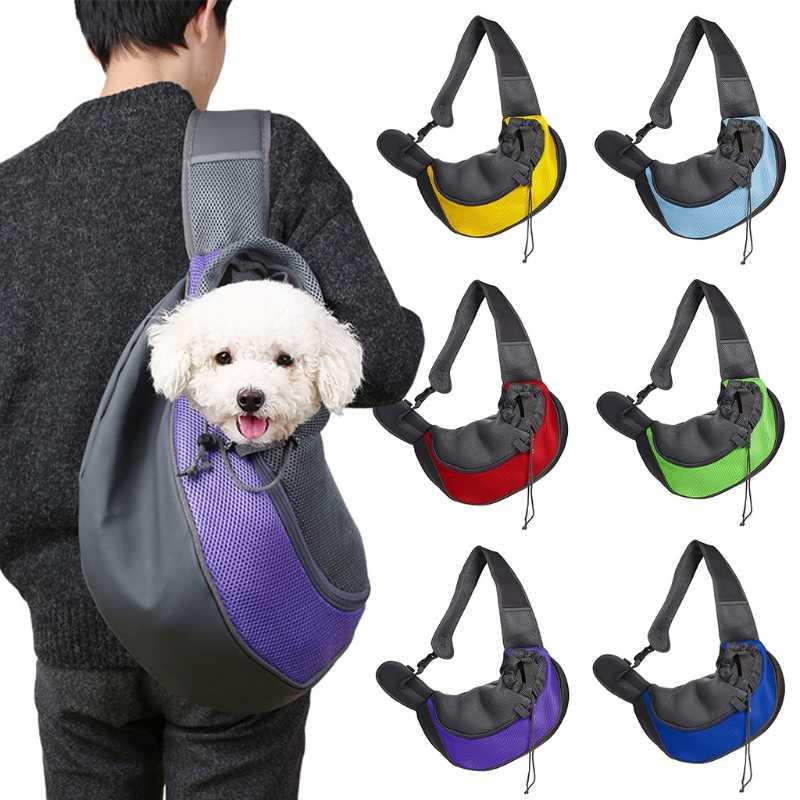 59f6ffc50068 THINKTHENDO Fashion Men Women Small Dog Carrier Comfort Pet Cat Puppy  Multifunction Travel Sling Tote Shoulder Crossbody Bag New