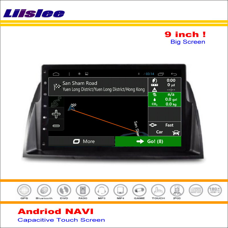 Liislee Car Android GPS Navigation System For Mazda 6 Mazda6 GJ1 / Atenza 2012~2016 Radio Stereo Video Multimedia No DVD Player