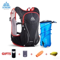 AONIJIE Outdoor Sports Trail Running Backpack 5L Marathon Hydration Vest Pack For 1.5L Water Bag Super Light Cycling Hiking Bag