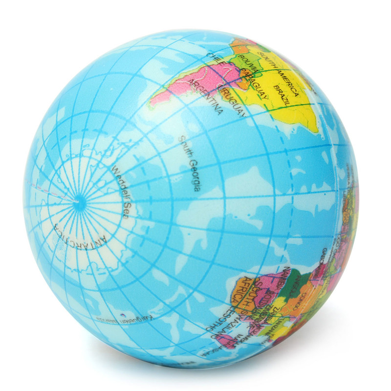 Funny brief earth globe stress relief bouncy foam ball planet world funny brief earth globe stress relief bouncy foam ball planet world map foam stress relief bouncy press ball geography toy in toy balls from toys hobbies gumiabroncs Choice Image
